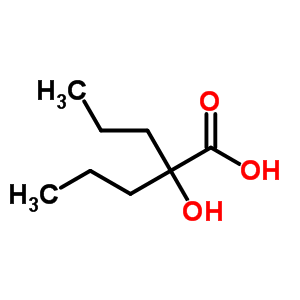 2-Hydroxy-2-propyl-pentanoic acid