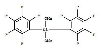 Dimethoxy[Bis(Pentafluorophenyl)]Silane