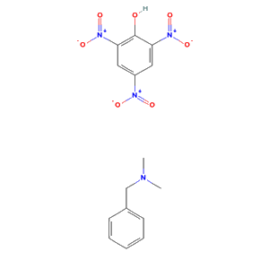 N,N-dimethyl-1-phenyl-methanamine; 2,4,6-trinitrophenol