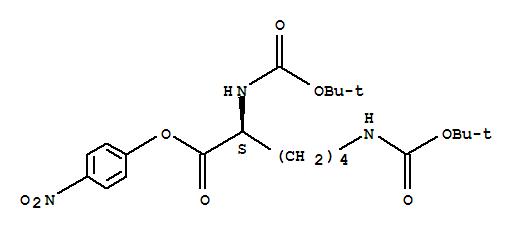 L-Lysine,N2,N6-bis[(1,1-dimethylethoxy)carbonyl]-, 4-nitrophenyl ester