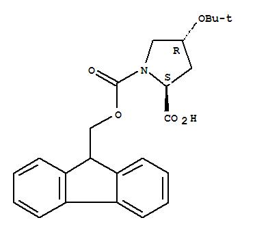 1,2-Pyrrolidinedicarboxylicacid, 4-(1,1-dimethylethoxy)-, 1-(9H-fluoren-9-ylmethyl) ester, (2S,4R)-