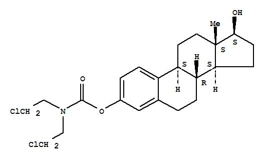 Estra-1,3,5(10)-triene-3,17-diol(17b)-,3-[bis(2-chloroethyl)carbamate]