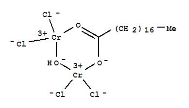 Chromium, tetrachloro-m-hydroxy[m-(octadecanoato-kO:kO')]di-