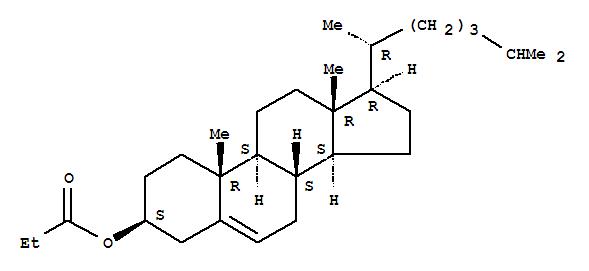 Cholest-5-en-3-ol (3b)-, 3-propanoate