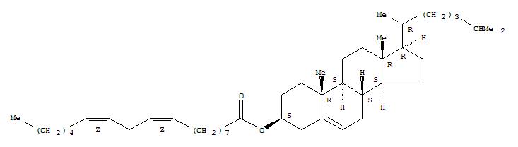 Cholest-5-en-3-ol (3b)-,3-[(9Z,12Z)-9,12-octadecadienoate]