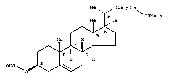 Cholest-5-en-3-ol (3b)-, 3-formate