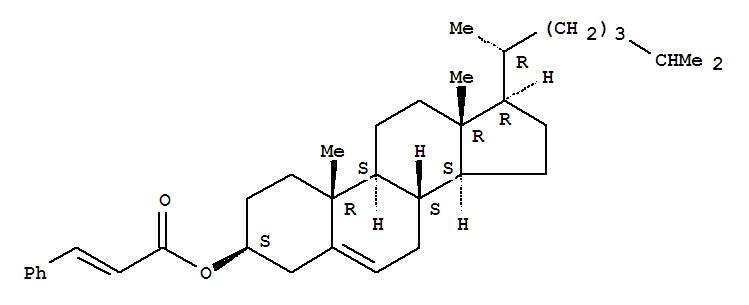 Cholest-5-en-3-ol (3b)-, 3-(3-phenyl-2-propenoate)