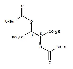 Butanedioic acid,2,3-bis(2,2-dimethyl-1-oxopropoxy)-, (2S,3S)-