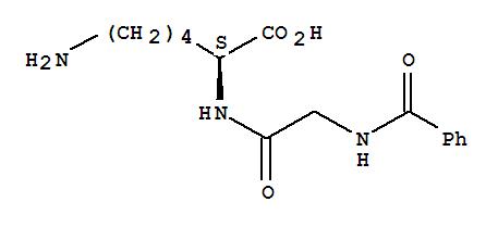 L-Lysine,N-benzoylglycyl-