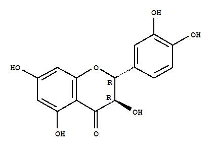 4H-1-Benzopyran-4-one,2-(3,4-dihydroxyphenyl)-2,3-dihydro-3,5,7-trihydroxy-, (2R,3R)-