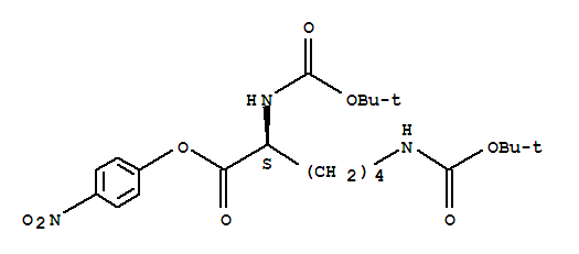 Boc-lys(boc)-onp