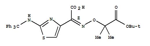 (Z)-2-(Tert-butoxycarbonylprop-2-oxyimino)-2-(2-tr...