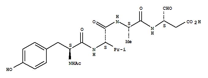 Acetyl-tyrosyl-valyl-alanyl-aspartal